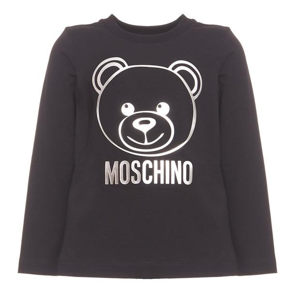Moschino Teddy Bear Logo T-shirt in black