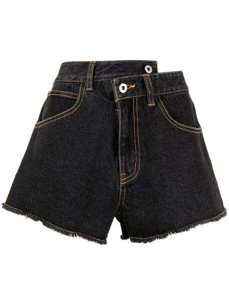 Ground Zero washed denim shorts - Blue