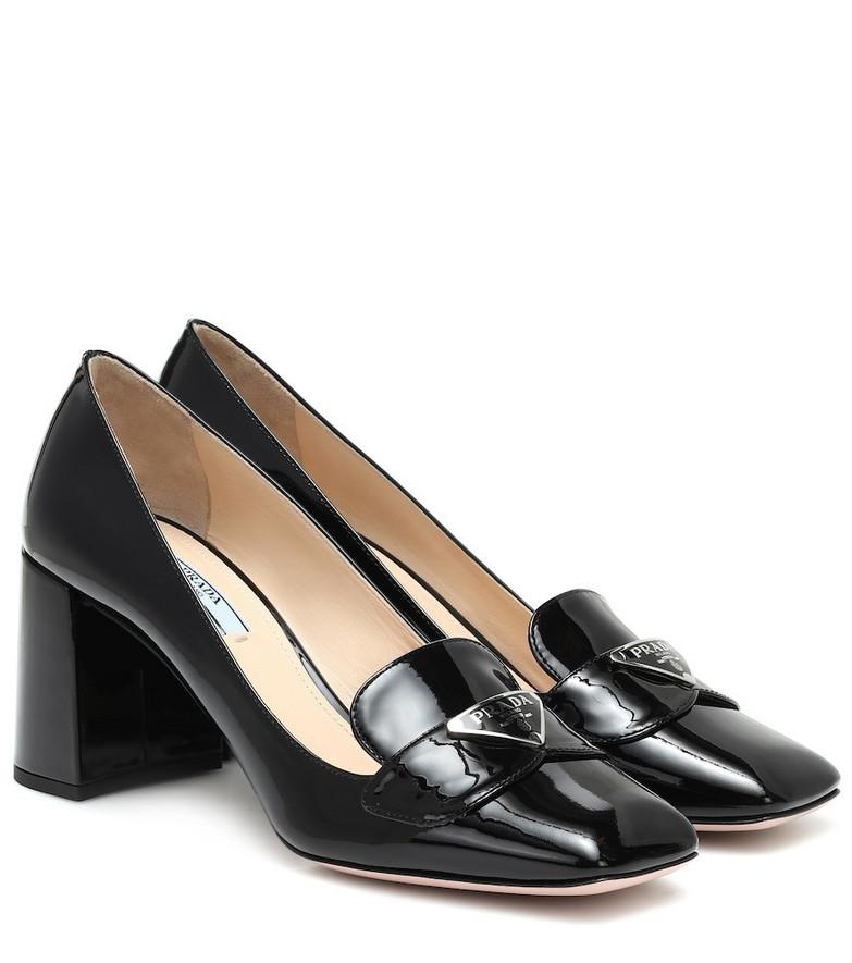 Prada Patent leather pumps in black