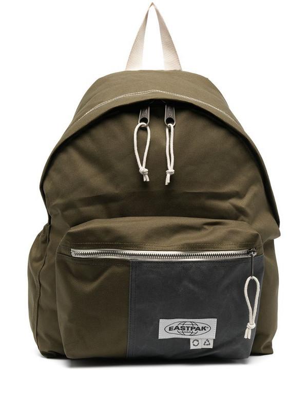 Eastpak logo patch backpack in green