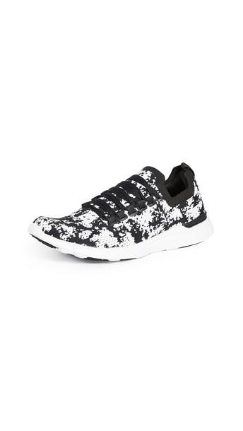 APL: Athletic Propulsion Labs TechLoom Breeze Sneakers in black / white