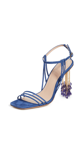 Jacquemus Les Lavandes Sandals in blue