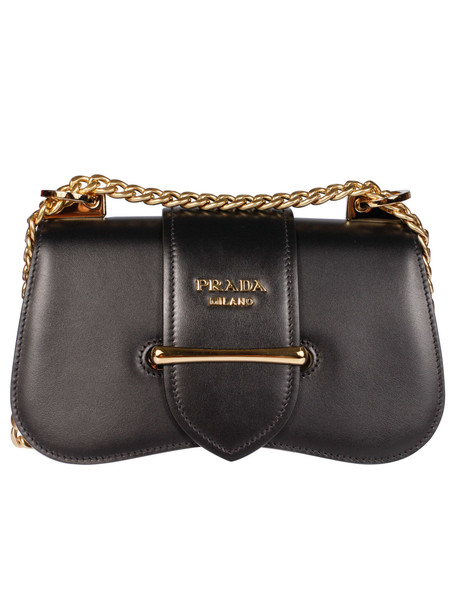 Prada City Shoulder Bag in nero