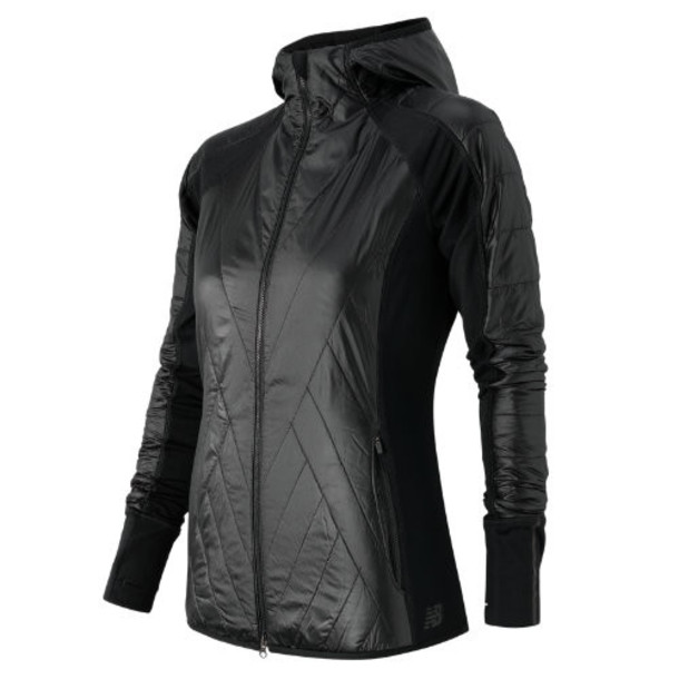 New Balance 53134 Women's NB Heat Hybrid Jacket - Black (WJ53134BK)