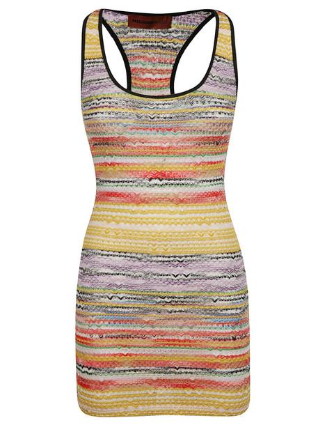 M Missoni Rainbow Knit Dress
