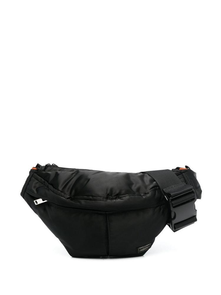 Porter-Yoshida & Co. Porter-Yoshida & Co. logo-patch belt bag - Black