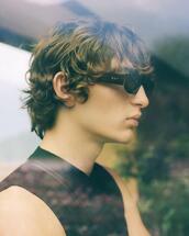 jacket,sunglasses