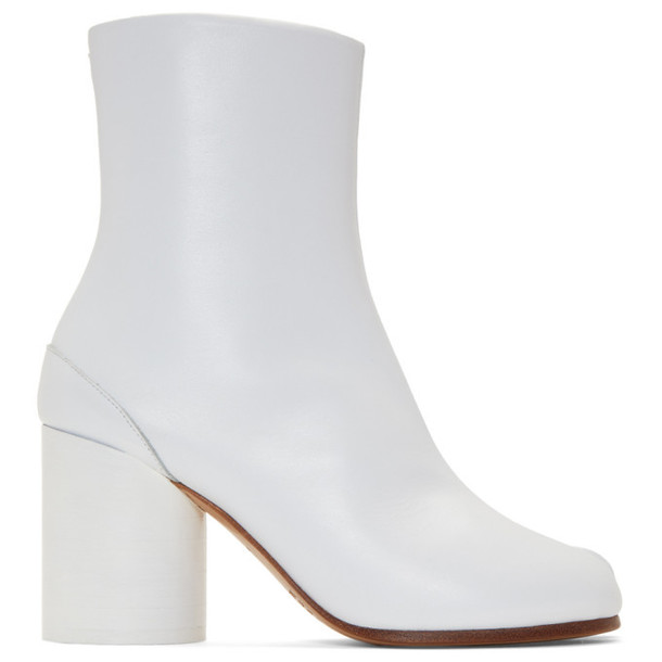 Maison Margiela White Tabi Boots