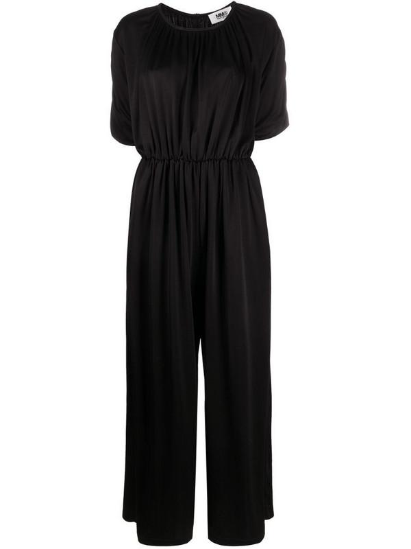 MM6 Maison Margiela wide-leg jumpsuit in black