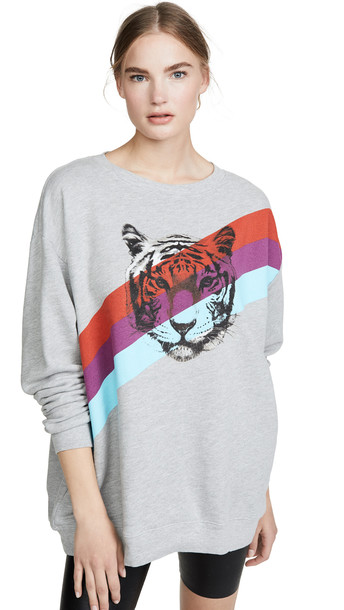 Wildfox Tiger Stripes Sweatshirt
