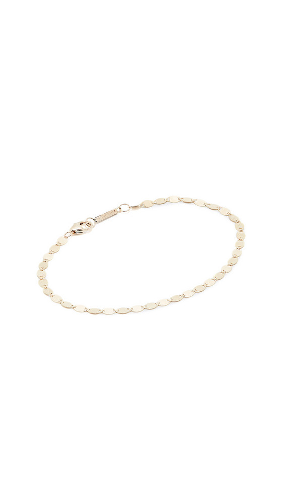 Lana Jewelry Petite Chain Bracelet in gold / yellow