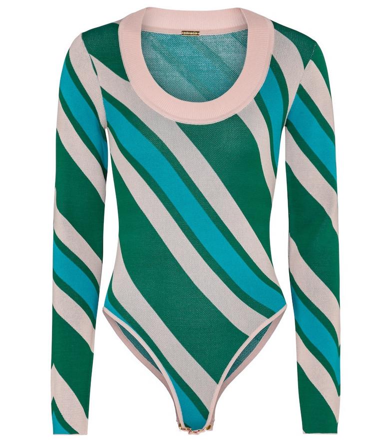 Dodo Bar Or Striped bodysuit
