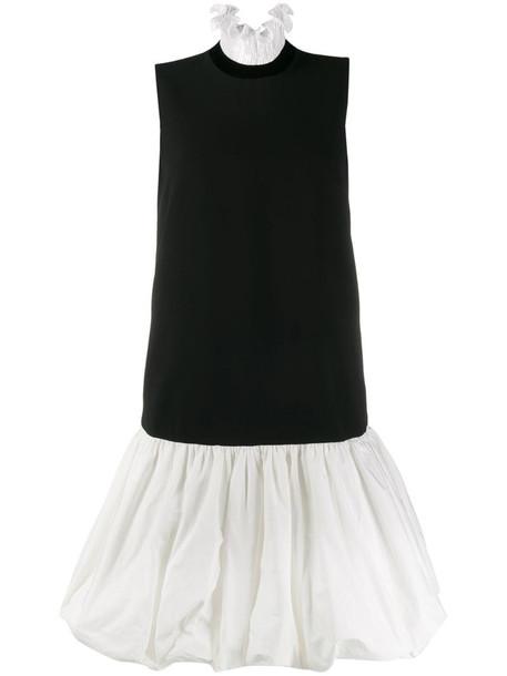Givenchy ruffled balloon dress in black