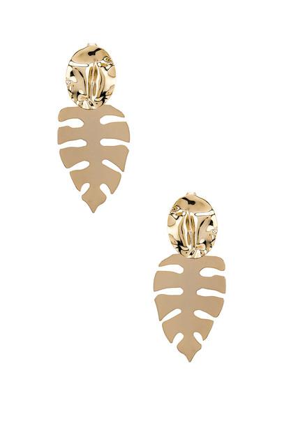 joolz by Martha Calvo Palm Springs Earring in gold / metallic