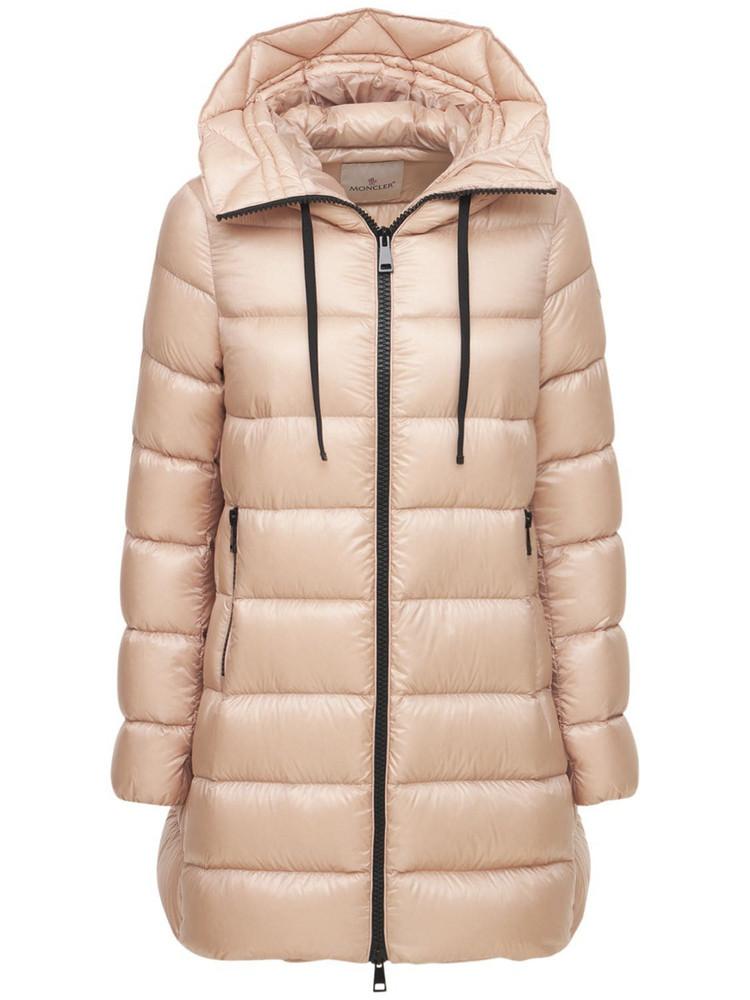 MONCLER Suyen Leger Nylon Down Jacket in pink