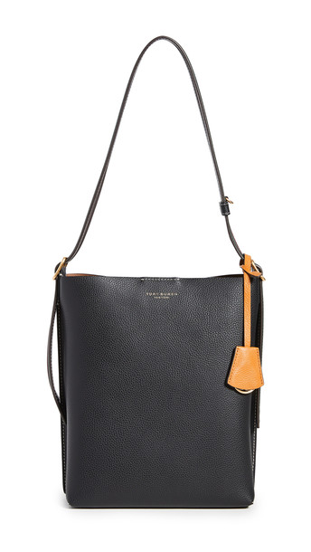 Tory Burch Perry Bucket Bag in black