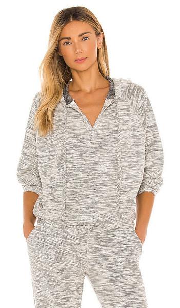 Electric & Rose Playa Hoodie in Grey in natural