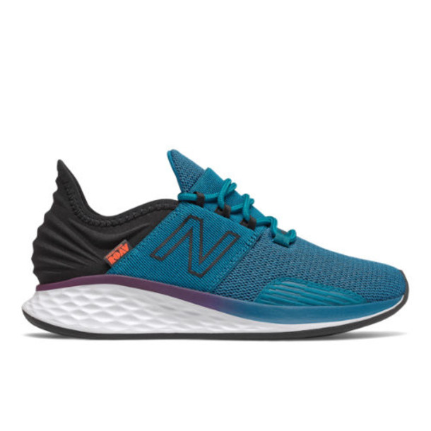 New Balance Fresh Foam Roav Boundries Women's Shoes - Blue/Black (WROAVPT)
