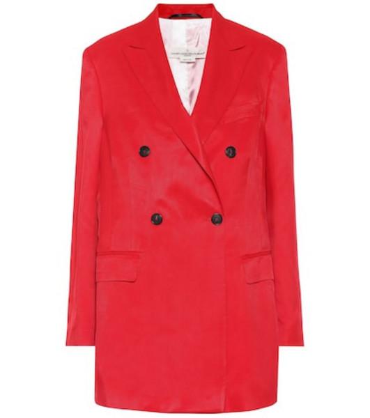 Golden Goose Deluxe Brand Valerie blazer in red