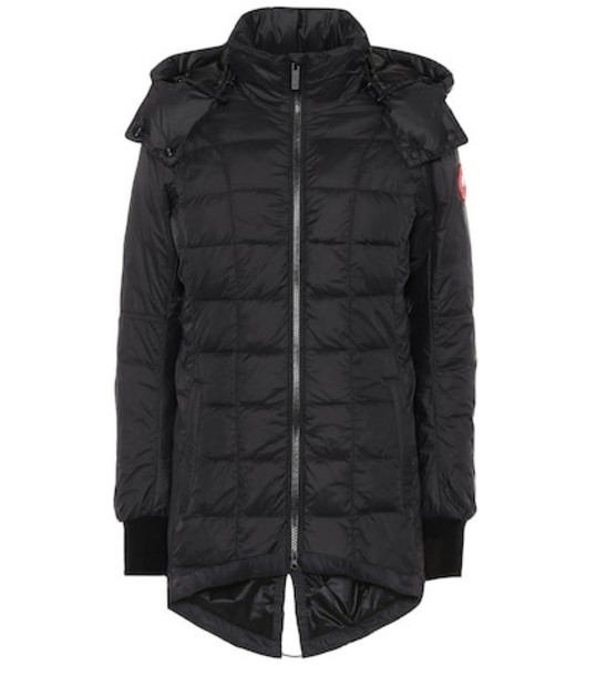 Canada Goose Ellison quilted down jacket in black