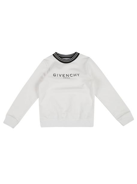Givenchy Logo Sweatshirt in white