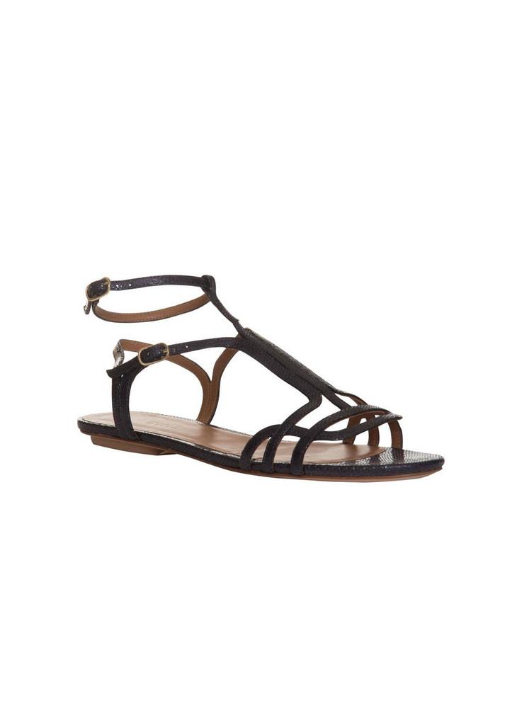 Chie Mihara Open-toe Sandals in nero