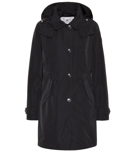 Woolrich Charlotte technical coat in black