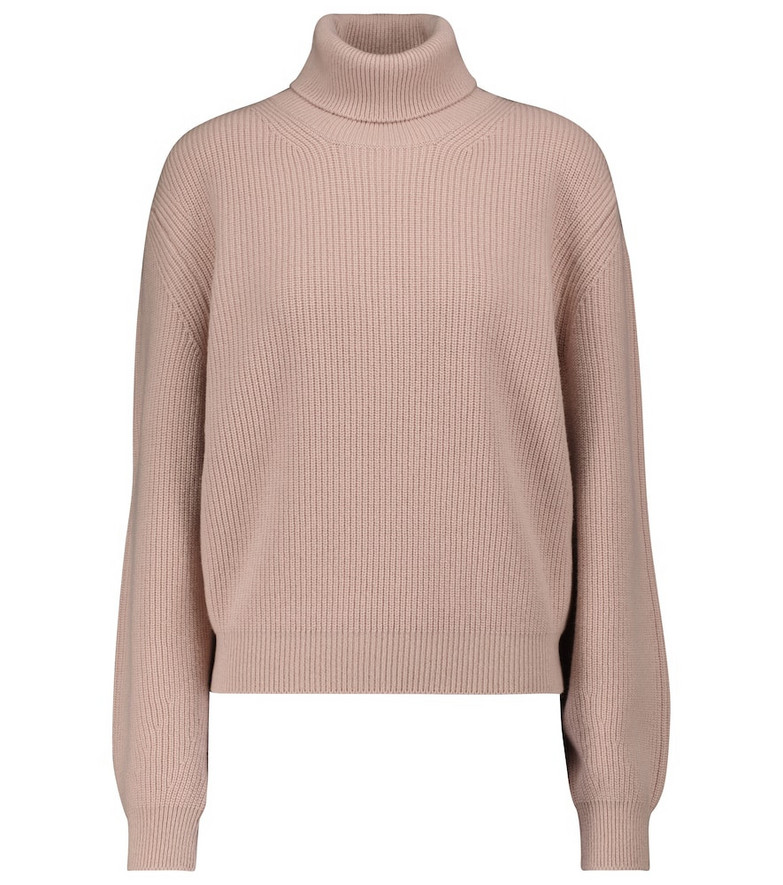 Tom Ford Cashmere turtleneck sweater in beige