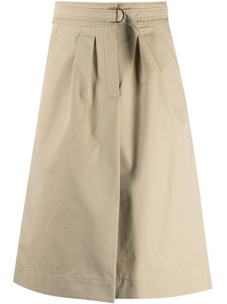 A.P.C. A.P.C. Caroline A-line skirt - Neutrals