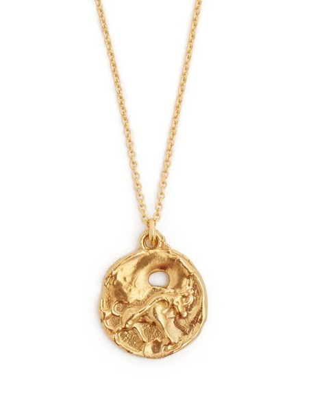 Alighieri - Taurus Gold Plated Necklace - Womens - Gold