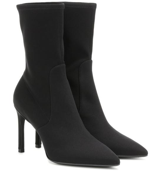 Stuart Weitzman Wren 95 ankle boots in black