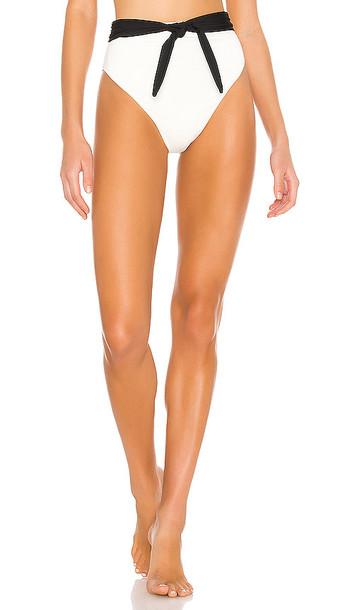 Mara Hoffman Goldie Bikini Bottom in White
