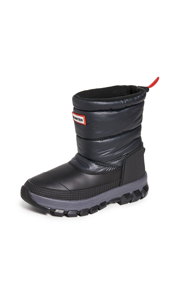 Hunter Boots Original Insulated Snow Short Boots in black