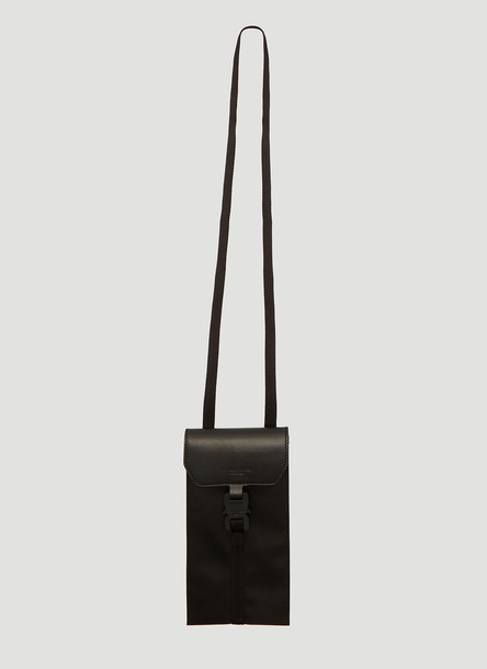 1017 ALYX 9SM Mini Buckle Cross Body Bag in Black size One Size