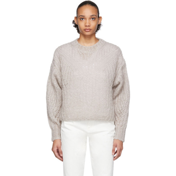Isabel Marant Grey Inko Sweater