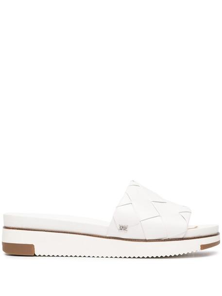 Sam Edelman woven-strap flat sandals - White