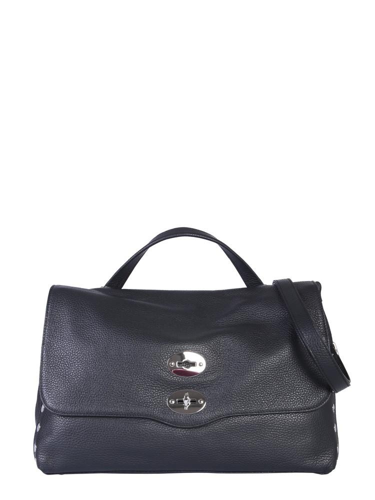 Zanellato Medium Postal Bag in nero