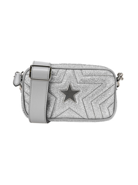 Stella Mccartney Glitter Bum Bag Stella Star in silver