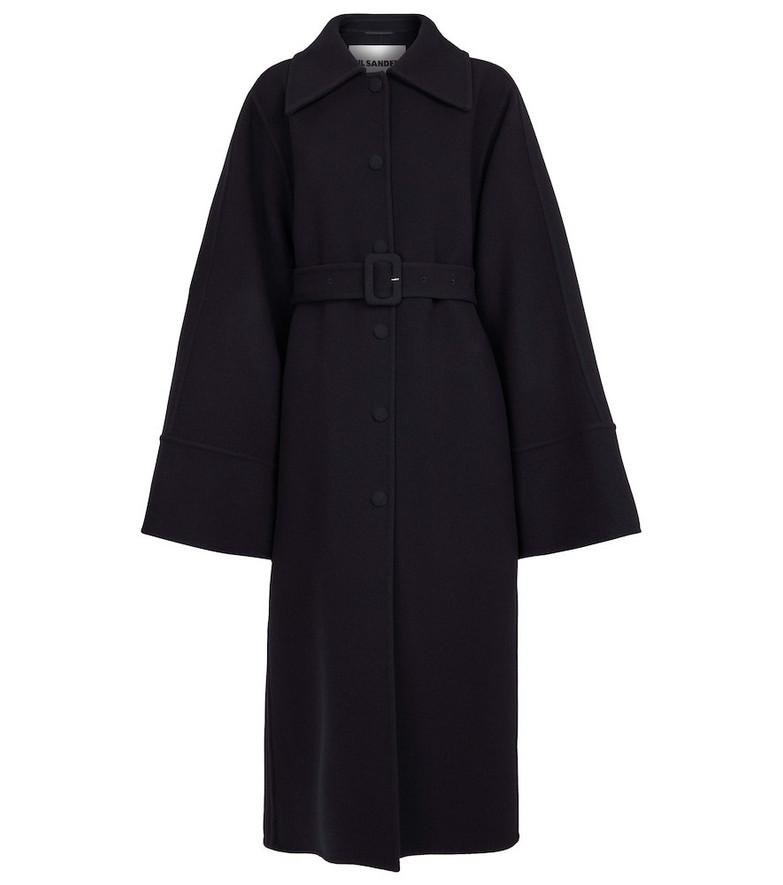 Jil Sander Wool coat in blue