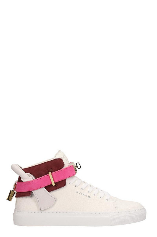 Buscemi 100mm High-top Sneakers in white