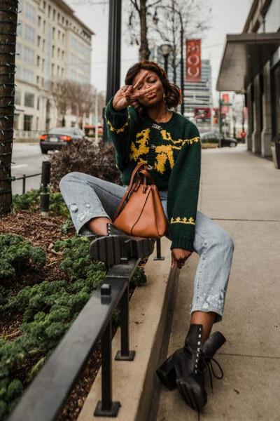 jewels millennielle sweater blogger bag