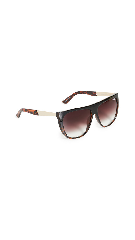 Quay Drama By Day Sunglasses in brown