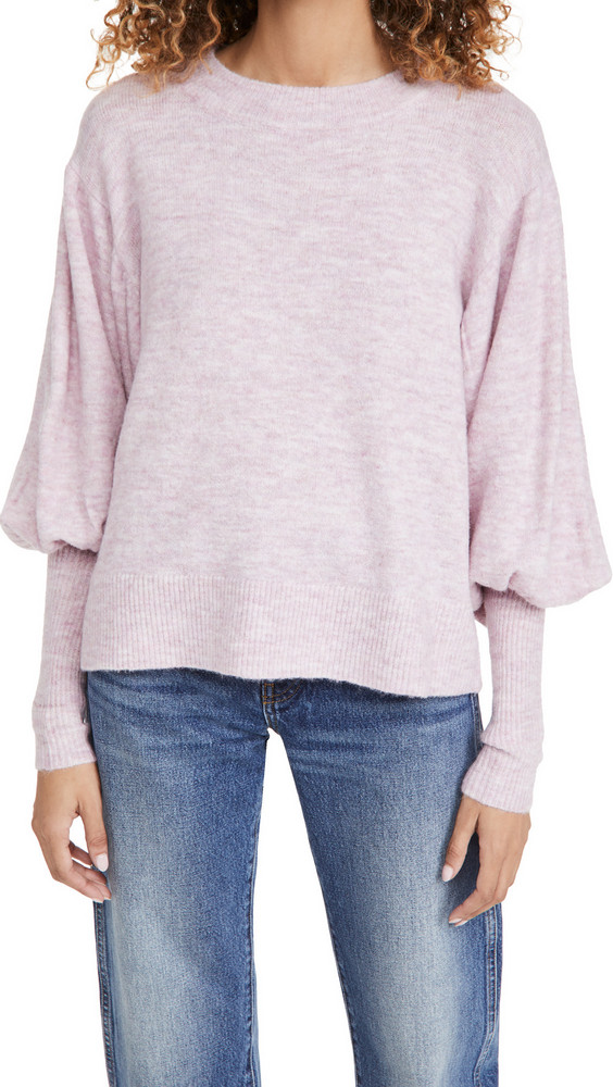 Line & Dot Jodie Sweater in blush