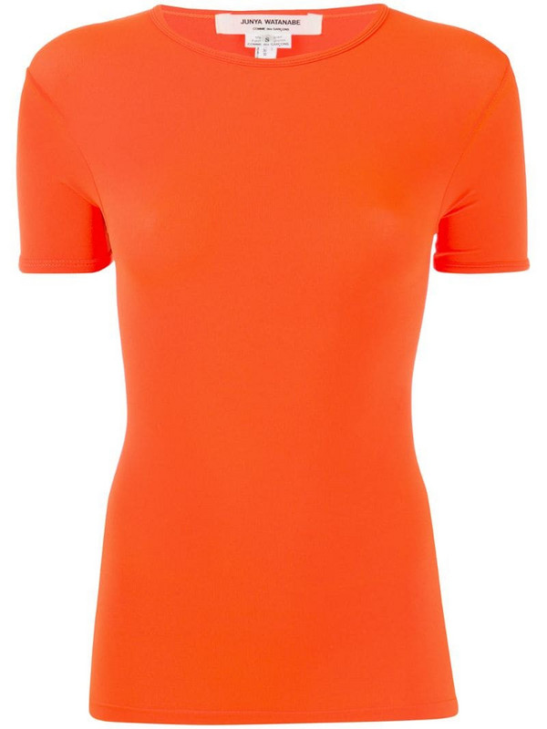 Junya Watanabe fitted T-shirt in orange