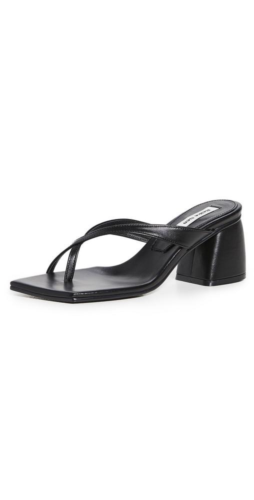 Reike Nen X Strap Flip Flop Heels in black