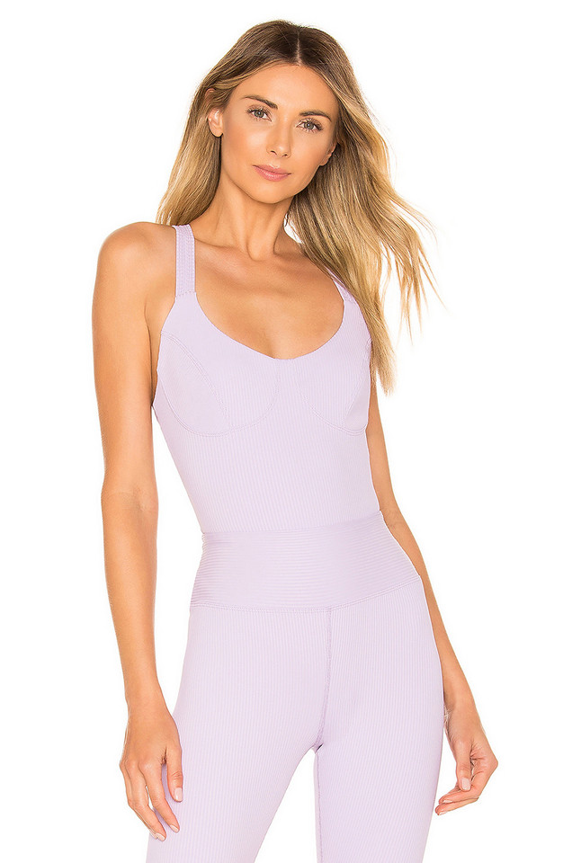 YEAR OF OURS x REVOLVE Anna Bodysuit in lavender
