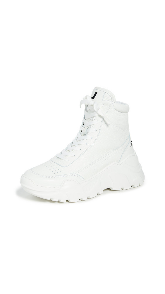 Joshua Sanders Zenith Classic Donna High Top Sneakers in white