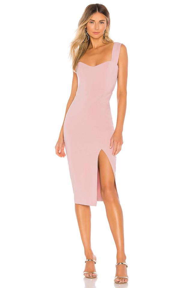 Nookie Divine Midi Dress in pink