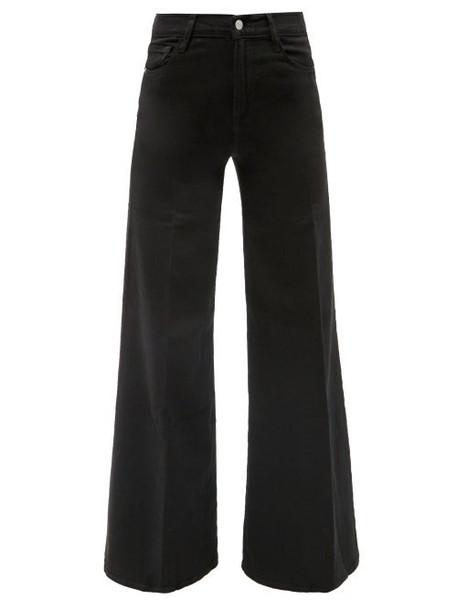 Frame - Le Palazzo Wide-leg Jeans - Womens - Black