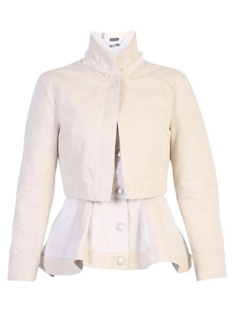 Alexander McQueen Layered Denim Jacket